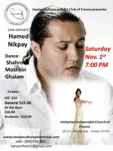 Concert Hamed Nikpay and Shahrokh 22