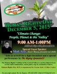 Humans Right Day December 5, 2015